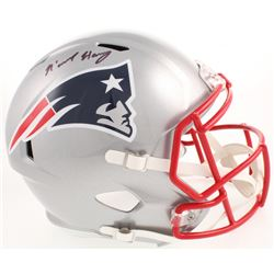 N'Keal Harry Signed New England Patriots Full-Size Speed Helmet (Beckett COA)