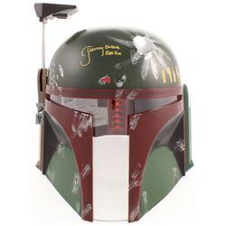 Jeremy Bulloch Signed  Star Wars  Boba Fett Full-Size Helmet Inscribed  Boba Fett  (JSA COA)