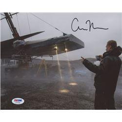 "Christopher Nolan Signed ""Interstellar"" 8x10 Photo (PSA COA)"