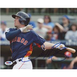Alex Bregman Signed Huston Astros 8x10 Photo (PSA COA)