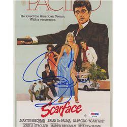 Steven Bauer Signed  Scarface  8x10 Photo (PSA COA)