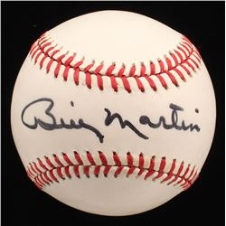 Billy Martin Signed OAL Baseball (JSA LOA)