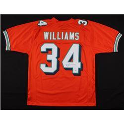 Ricky Williams Signed Miami Dolphins Jersey (Beckett COA)