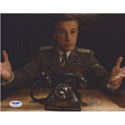 """Christoph Waltz Signed """"Inglourious Basterds"""" 8x10 Photo (PSA Hologam)"""
