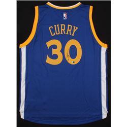 Stephen Curry Signed Adidas Swingman Warriors Jersey (Fanatics COA)