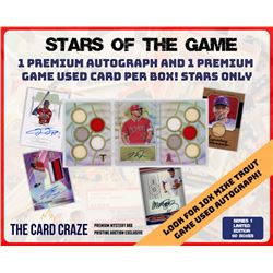 """The Card Craze """"Baseball Stars of the Game"""" Series 1 Mystery Box"""