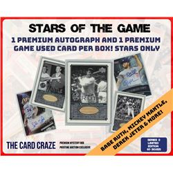 """The Card Craze """"Baseball Stars of the Game"""" Series 2 Mystery Box"""