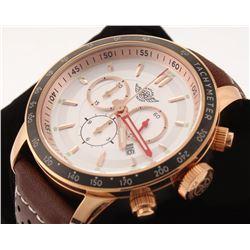 Zentler Freres Oracle Men's Swiss Chronograph Watch