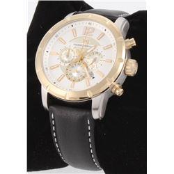 Pierre Bernard Steeplechase Men's Swiss Chronograph Watch
