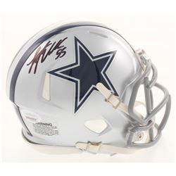 Leighton Vander Esch Signed Dallas Cowboys Speed Mini Helmet (JSA COA)