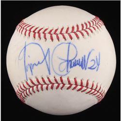 Miguel Cabrera Signed OML Baseball (PSA COA)
