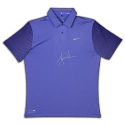 Tiger Woods Signed Limited Edition Nike Polo (UDA COA)