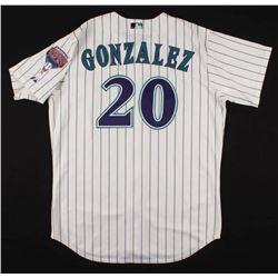 Luis Gonzalez Team-Issued Arizona Diamondbacks Jersey (Celebz Direct Hologram)