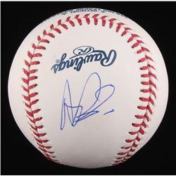 Albert Pujols Signed OML Baseball (Beckett LOA)