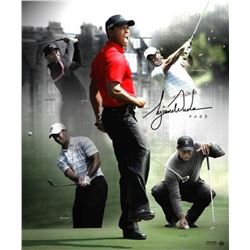 "Tiger Woods Signed ""Par 5"" 20x24 Photo (UDA COA)"