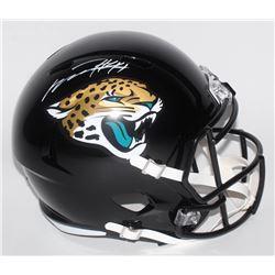 Myles Jack Signed Jacksonville Jaguars Full-Size Speed Helmet (JSA COA)