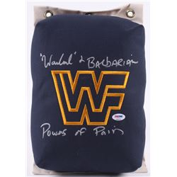 The Powers of Pain Signed WWF 80's Style Turnbuckle (PSA COA)