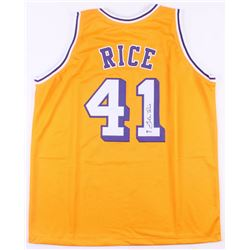 Glen Rice Signed Los Angeles Lakers Jersey (Beckett COA)