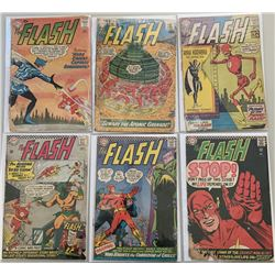 "Lot of (6) 1960-1966 ""Flash"" 1st Series DC Comic Books with #117, #122, #133  #161-163"