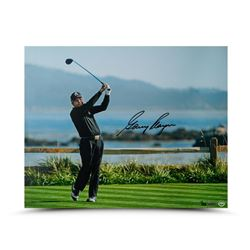 "Gary Player Signed ""Tee Shot on 18"" Limited Edition 16x20 Photo (UDA COA)"
