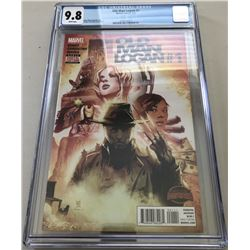 "2015 ""Old Man Logan"" Issue #1A Marvel Comic Book (CGC 9.8)"