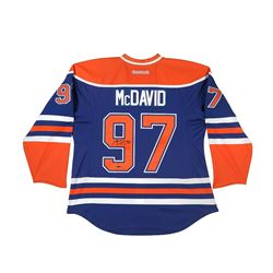 Connor McDavid Signed Edmonton Oilers Captain Jersey (UDA COA)