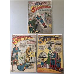 "Lot of (3) 1965-1960 ""Superman"" 1st Series DC Comic Books with #108, #118  #140"