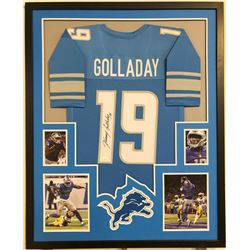 Kenny Golladay Signed Detroit Lions 34x42 Custom Framed Jersey (JSA COA)