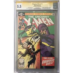 "Stan Lee Signed 1981 ""Uncanny X-Men"" 1st Series Issue #142 Marvel Comic Book (CGC 5.5)"
