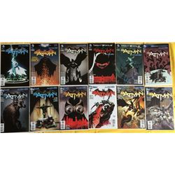 "Run of (23) 2011-12 ""Batman"" 2nd Series DC Comic Books with #1-23"