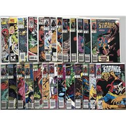 "Lot of (54) ""Doctor Strange"" Marvel Comic Books with Special Edition #1, Annual #2-4"
