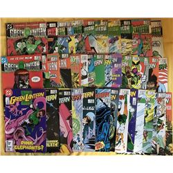 "Lot of (40) 1985-88 ""Green Lantern"" 1st Series DC Comic Books with #185-224, #195-200, #222, #224"