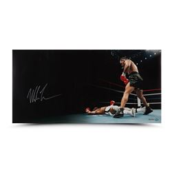 "Mike Tyson Signed ""Knockout"" 18x36 Limited Edition Photo (UDA COA)"