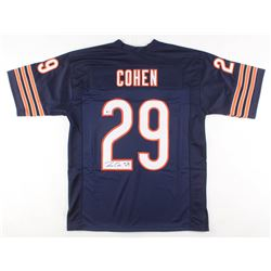 Tarik Cohen Signed Chicago Bears Jersey (Beckett COA)