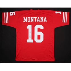 Joe Montana Signed San Francisco 49ers Jersey (JSA Hologram)