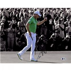 Danny Willett Signed 11x14 Photo (Beckett COA)