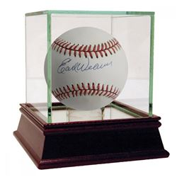 Earl Weaver Signed OAL Baseball with High Quality Display Case (JSA Hologram)