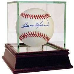 Harmon Killebrew Signed OAL Baseball with High Quality Display Case (JSA Hologram)