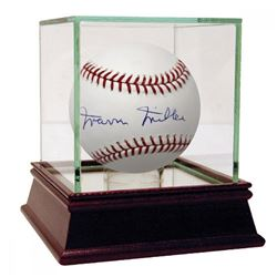 Marvin Miller Signed OML Baseball (JSA Hologram)