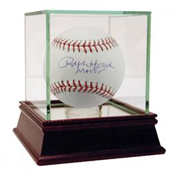 "Ralph Houk Signed OAL Baseball Inscribed ""Major"" with High Quality Display Case (JSA Hologram)"