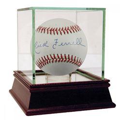 Rick Ferrell Signed OAL Baseball (JSA Hologram)