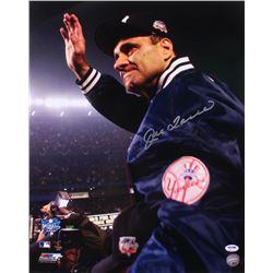 Joe Torre Signed New York Yankees 16x20 Photo (PSA Hologram)