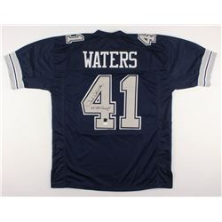 "Charlie Waters Signed Dallas Cowboys Jersey Inscribed ""2X SB Champs!"" (JSA COA)"