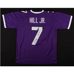 Kenny Hill Signed TCU Horned Frogs Jersey (JSA Hologram)