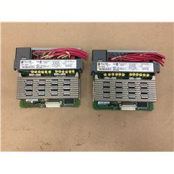 (2)Allen Bradley 1746-0AP12 Output Module