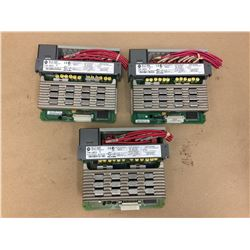 (3)Allen Bradley 1746-0AP12 Output Module
