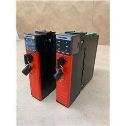 (2) Allen-Bradley1756- L62S B Guardlogix 5562S Processor