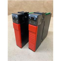 (2) Allen-Bradley 1756-LSP B Guardlogix 55LSP Processor