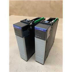 (2) Allen-Bradley 1756-ENBT A Ethernet/IP 10/100 Mb/s Communications Bridge