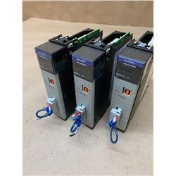 (3) Allen-Bradley 1756-DNB D Devicenet Communication Modules
